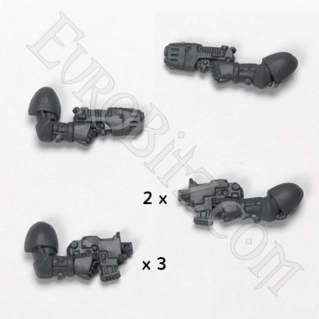 Pack pistolets space marine d'assaut