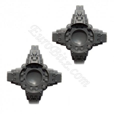 Pieds de Dreadnought Ironclad x2