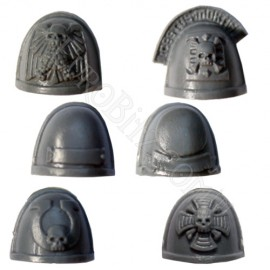 Space Marine Commander Shoulder Pads