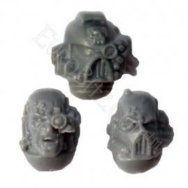 Space Marine Commander Head Pack