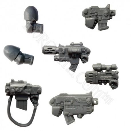 Space Marine Commander Assault Weapons