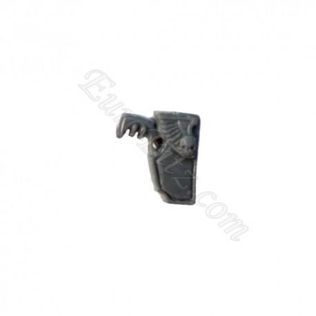 Commander's pistol in holster