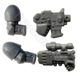 Pack bras + Pistolet bolter / Plasma
