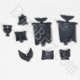 Pack d'accessoires de l'escouade de commandement space marine 3