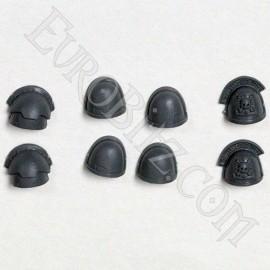 Pack d'épaulières escouade de commandement sapce marine 2
