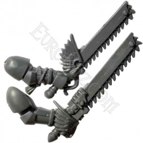 Epées Tronçonneuses droitier BA Pack