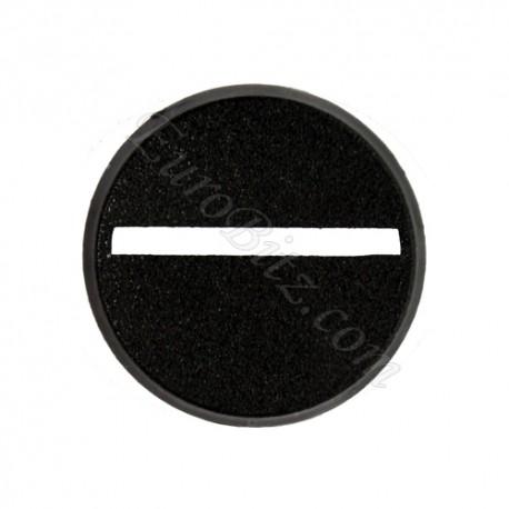 Socle rond évidé 25mm
