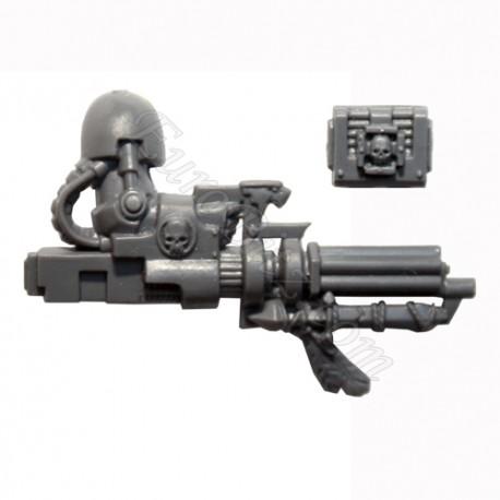 Bras Terminator Canon d'assaut DA