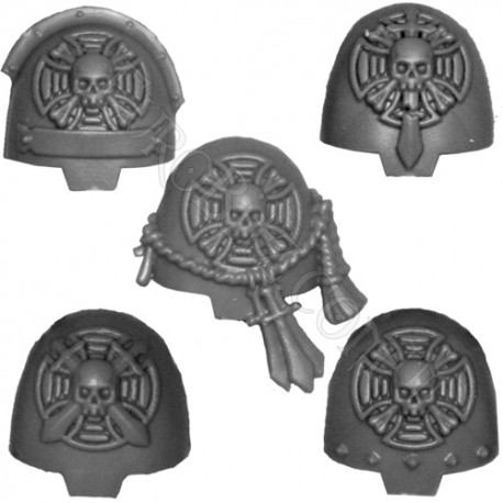 Shoulder Pads A Pack Terminators knights Deathwing