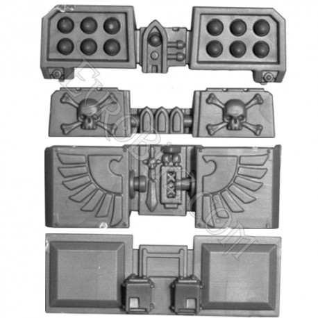 Cyclone Missile Launcher Terminators Deathwing