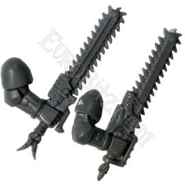 Epée Tronçonneuse droitier Pack SW