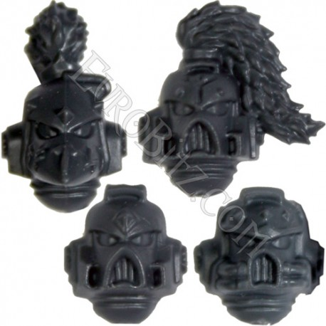 Head with helmet SW Pack