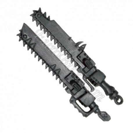 Épées Tronçonneuses Gauches SW