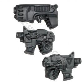 Pistolets Bolter + plasma Gauchers SW