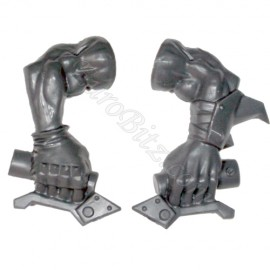 Arm holding the handlebars Warbikers Ork