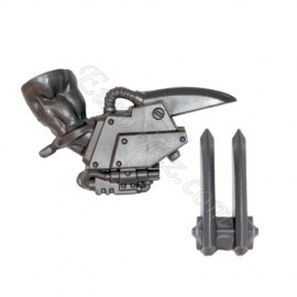 Right arm C Power Claw Ork
