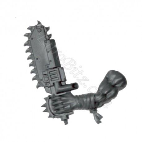 Left Arm B Chainsaw Ork