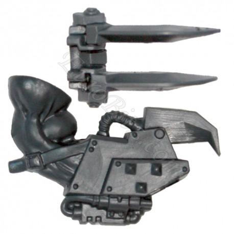 Right Arm F Power Claw Nobz Ork