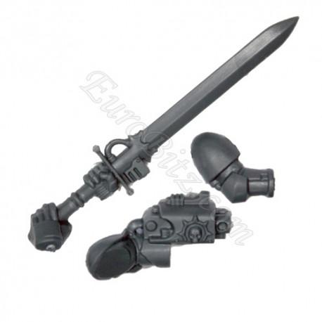 Bras E Épée némésis CG