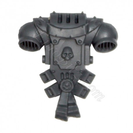 Backpack B Grey Knight