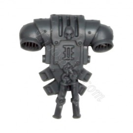Backpack D Grey Knight