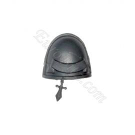 Shoulder Pad L Grey Knight