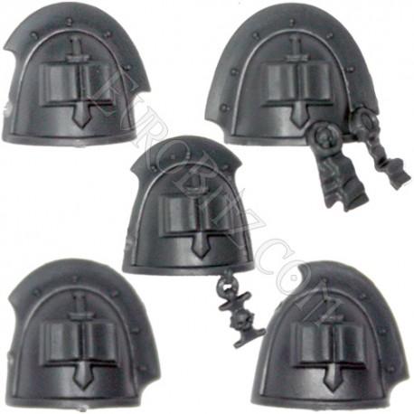 Grey knight Shoulder Pad Pack B