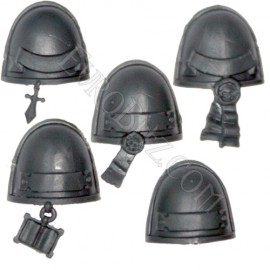 Grey Knights Shoulder Pads pack 1