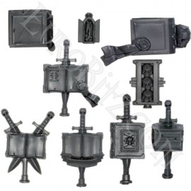 Grey knights Terminators Accessories.
