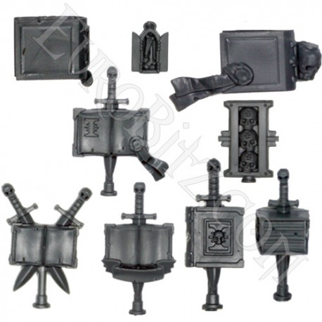 Grey knights Terminators Accessories.