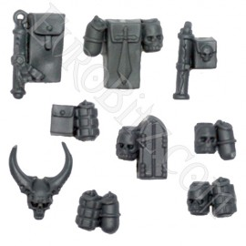 Grey Knights Terminators Accessories and Grenades.
