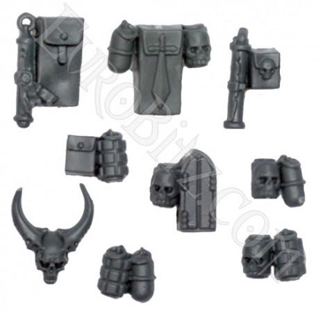Grey Knights Terminators Accessories and Grenades.