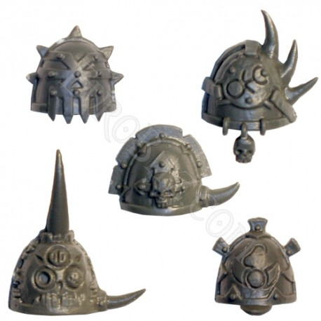 Chaos Space Marines Shoulder Pads 2