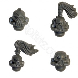 Chaos Space marines Heads
