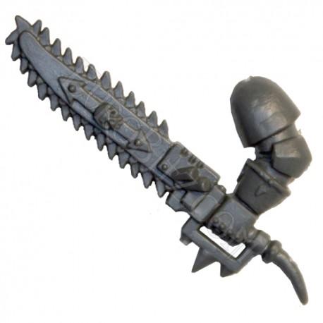 Chainsword D Left Arm CSM