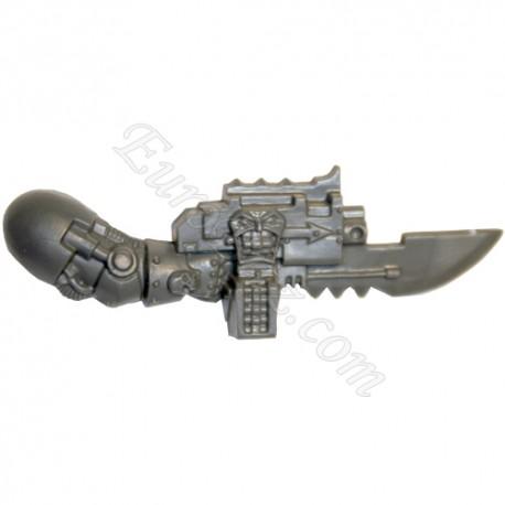 Twin Boltgun B right arm  Terminator