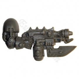 Combi flammer boltgun right arm Lord Terminator