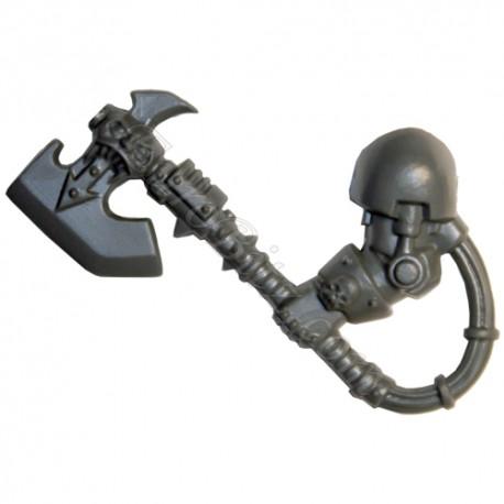 Hache Energétique A Gauche Terminator