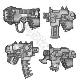 Bolt & Plasma pistol Left hand  pack Raptors