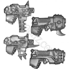 Pistolets Bolter & Plasma droit Raptor