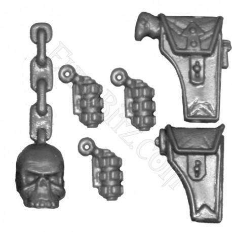 Accessories of Khorne's Berserkers