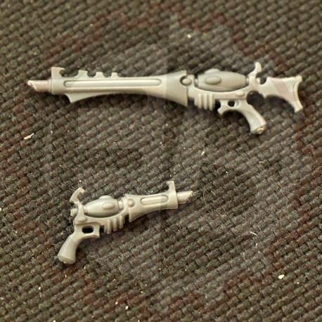 Kabalites' Shooting Weapons
