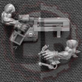 Bras armé de FlashGitz D