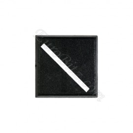 25mm Square Base with empty diagonal