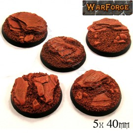 Rocky Bases 40mm