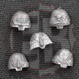 Epaulettes de Terminators Blood Angels B